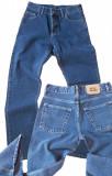 Blugi drepti barbati simpli albastri MOTTO jeans W 30 (Art.031)