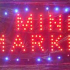 Reclama Luminoasa cu LED 50x25cm Mini Market