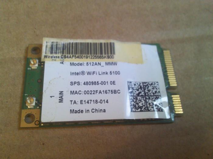 wifi Intel WiFi Link 5100 512AN_MMW Medion Akoya P6618 MD 97620 p6613 97110 etc
