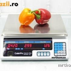 CANTAR ELECTRONIC PIATA MAGAZIN 30 kg - Cantar comercial, Platforma