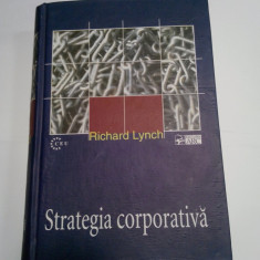 STRATEGIA CORPORATIVA - RICHARD LYNCH - Carte Management