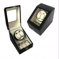 Watch Winder 2 + 3 Dispozitiv pentru intoarcere ceasuri Cutie ceasuri automatice