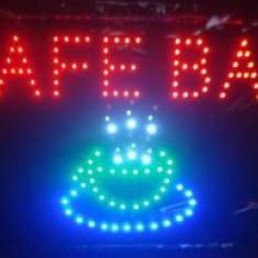 Reclama Luminoasa Cu LED 55x33cm Cafe Bar
