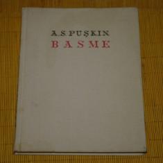 Basme - A. S. Puskin - Editura pentru literatura universala - 1962 - Carte Basme