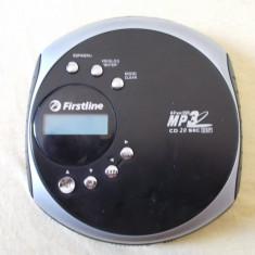CD PLAYER FIRSTLINE FCD966 MP 3/USB.SD/MMC, DEFECT .