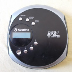 CD PLAYER FIRSTLINE FCD966 MP 3/USB.SD/MMC, DEFECT .
