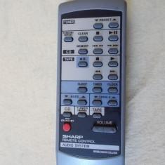 TELECOMANDA SHARP MODEL RRMCG0012SJSB, PENTRU AUDIO SYSTEM - Telecomanda aparatura audio