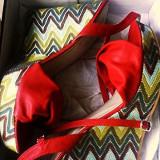 Sandale noi de dama comode si elegante la pret promotional - Sandale dama, Culoare: Rosu, Marime: 40, Piele sintetica