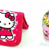 Set ceas de mana si portofel Hello Kitty