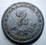 B.795 PARAGUAY 2 PESOS 1938, America Centrala si de Sud, Aluminiu