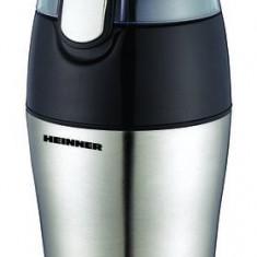 Rasnita de cafea Heinner HCG-150SS, 150W, capacitate 50g (ambalaj deteriorat) - Rasnita Cafea