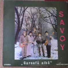 Savoy Garoafa Alba disc vinyl lp muzica pop rock romanesc electrecord - Muzica Rock electrecord, VINIL