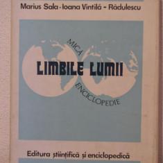 LIMBILE LUMII-MARIUS SALA, IOANA -VINTILA-RADULESCU - Enciclopedie