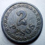 B.803 PARAGUAY 2 PESOS 1938, America Centrala si de Sud, Aluminiu
