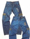 Blugi barbatesti largi cu buzunare RANGER KARL W 31 (Art. 068), Albastru