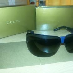 Ochelari de soare Gucci originali, Unisex, Negru, Curbati, Polarizare, Polarizate