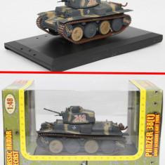2820.Macheta tanc Panzer 38 tone - scara 1:48 - Macheta auto