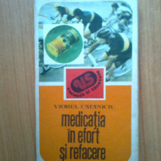 K0d Viorel Catanciu - Medicatia in efort si refacere - Carte Recuperare medicala