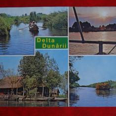 Aug15 - Vedere/ Carte postala - Delta Dunarii - Carte Postala Banat dupa 1918, Circulata, Printata