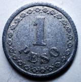 B.786 PARAGUAY 1 PESO 1938, America Centrala si de Sud, Aluminiu