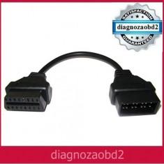 Cablu adaptor tester auto Nissan 14 pini catre OBD 2 pt. Delphi sau CDP+