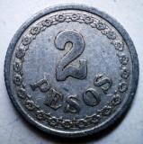 B.804 PARAGUAY 2 PESOS 1938, America Centrala si de Sud