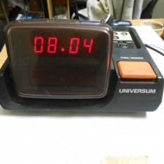 Radio cu ceas si alarma Universium UR1195 ce colectie - Aparat radio, Digital