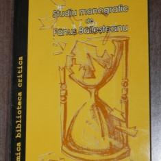 MARIN SORESCU - STUDIU MONOGRAFIC DE FANUS BAILESTEANU