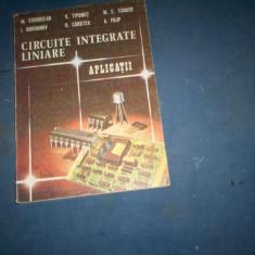 CIRCUITE INTEGRATE LINIARE  APLICATII