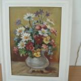 TABLOU ULEI PE PANZA - Pictor roman, Flori, Altul