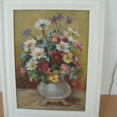TABLOU  ULEI  PE  PANZA, Flori, Altul
