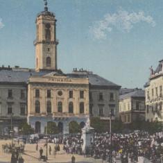 CERNAUTI, PRIMARIA - Carte Postala Bucovina dupa 1918, Necirculata, Printata