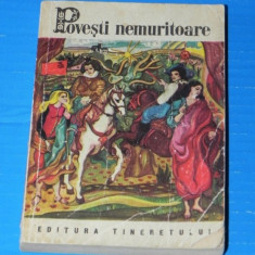 POVESTI NEMURITOARE VOL 9 - 1968 - SASESTI, ALBANEZE, ITALIENE, BANATENE - Carte de povesti