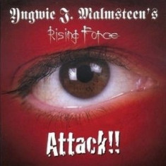 Yngwie Malmsteen Attack reissue (cd) - Muzica Rock