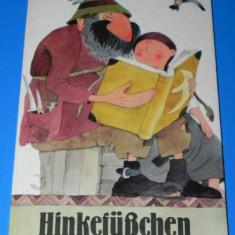 HINKEFUSCHEN - EIN SLOWAKISCHES MARCHEN. Carte pentru copii. in limba germana. Cu ilustratii (01149 - Carte de povesti