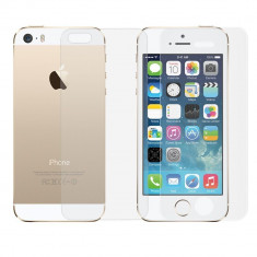 Geam iPhone 4 4S Fata + Spate Tempered Glass 0.3mm - Folie de protectie Apple, Lucioasa