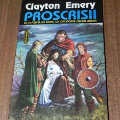 CLAYTON EMERY - PROSCRISII - COLECTIA NAUTILUS SF NR 11 - Carte SF