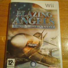 JOC WII BLAZING ANGELS SQUADRONS OF WWII ORIGINAL PAL / by DARK WADDER - Jocuri WII Ubisoft, Simulatoare, 12+, Multiplayer