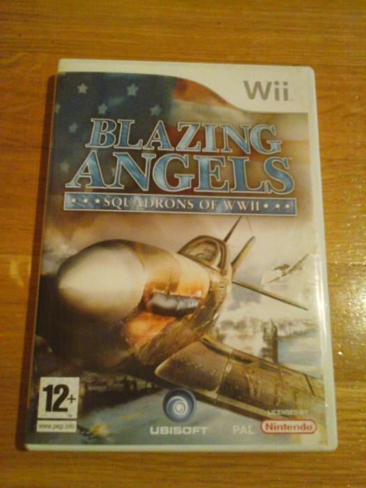 JOC WII BLAZING ANGELS SQUADRONS OF WWII ORIGINAL PAL / by DARK WADDER