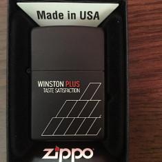 Bricheta Zippo Alta Winston originala, noua cu garantie pe viata, Tip: Moderna (1970 -acum)