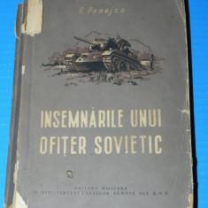 G PENEJCO - INSEMNARILE UNUI OFITER SOVIETIC - Biografie