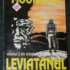 2 carti MICHAEL MOORCOCK - LEVIATANUL TERESTRU. AMIRALUL VAZDUHULUI. SCIENCE FICTION - Carte SF
