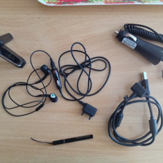 Handsfree super sound bass+pen+cablu date+trespied+incarcator auto-SONY ERICSSON - Handsfree GSM