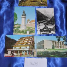 Lot 5 CP FAGARAS. (Carti postale vechi,Vederi Romania)