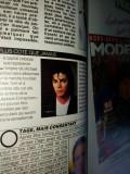 Revista franceza Nous deux - aprilie 1990 - Articol Michael Jackson