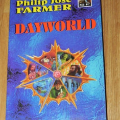 PHILIP JOSE FARMER - seria dayworld DAYWORLD TERMINUS. REBELUL DIN DAYWORLD sf - Carte SF