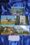 Lot  5 CP CARANSEBES + RESITA. (Carti postale vechi,Vederi Romania)