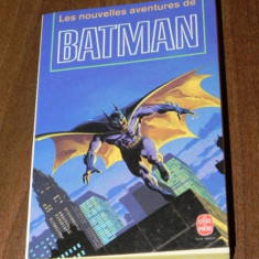 Noile aventuri ale lui LES NOUVELLES AVENTURES DE BATMAN sf in limba franceza - Carte SF