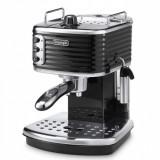 Espressor DeLonghi ECZ351BK Scultura - Reducere 501 RON (39%) - Garantie 2 Ani, Manual, 15 bar