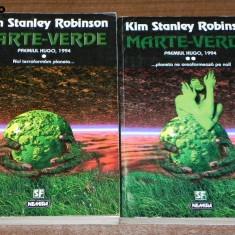 KIM STANLEY ROBINSON - MARTE VERDE VOL 1-2. colectia Nautilus sf nr 133-134 - Carte SF